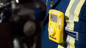BW Clip Gas Detector aan borstzak
