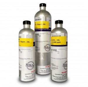 Kalibratieflessen 34 liter en 58 liter