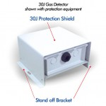 GDS 30J Protection shield & Stand Off Bracket